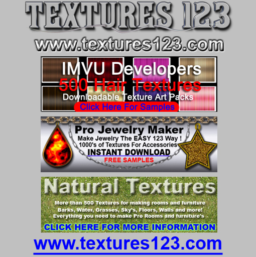 IMVU Developer Texture Art and Stock Images