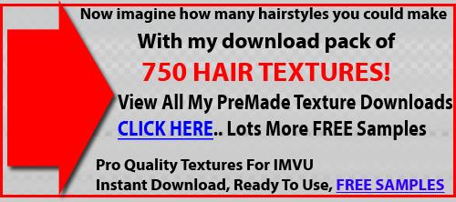 IMVU Tutorial Make Hair